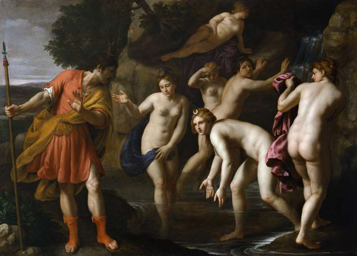 """Diana and Actaeon"""