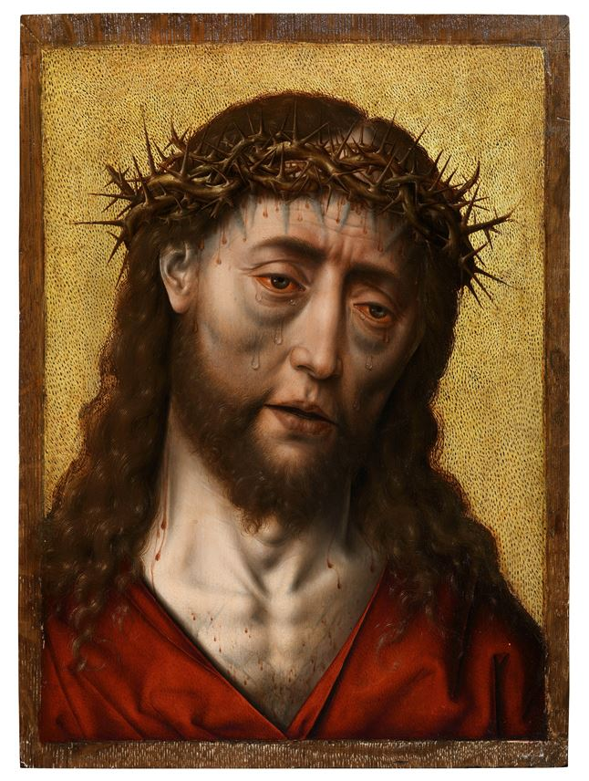 Albrecht Bouts - Christ Crowned with Thorns | MasterArt