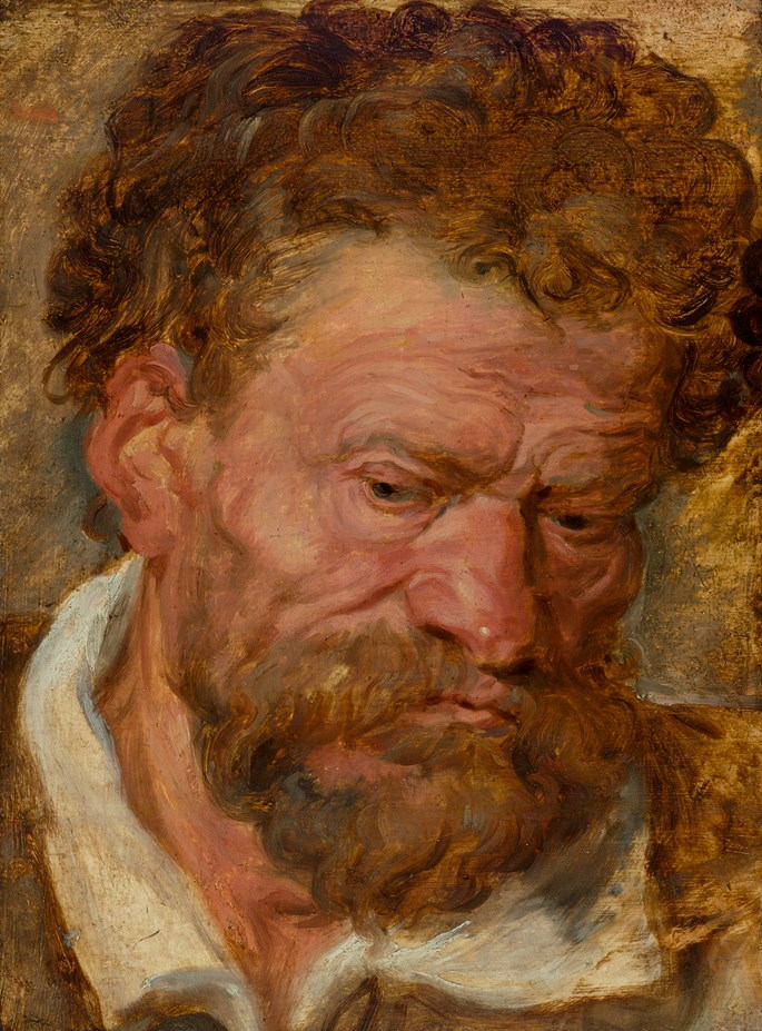 Anthony van Dyck - Study of a Bearded Man | MasterArt