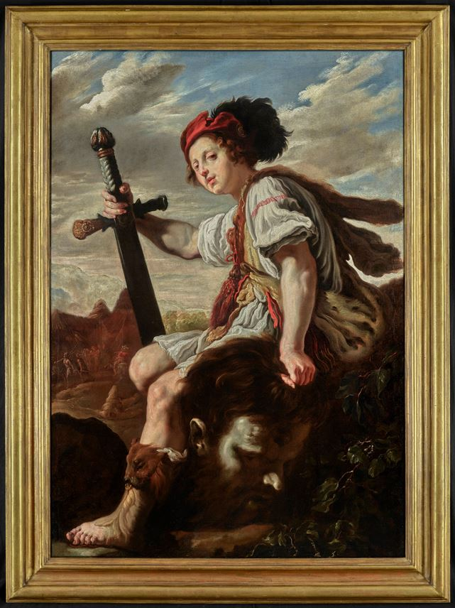 Domenico Fetti - David with the Head of Goliath | MasterArt