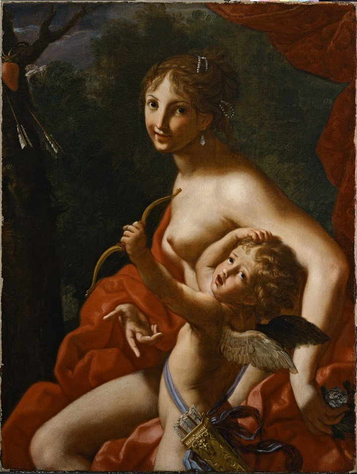 """Venus and Cupid"""