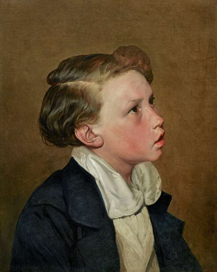 Portrait of a Blond Boy