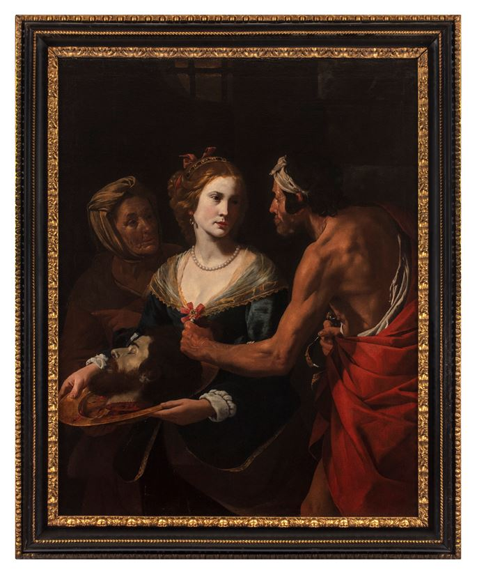 Hendrick de Somer - Salome Receiving the Head of John the Baptist | MasterArt