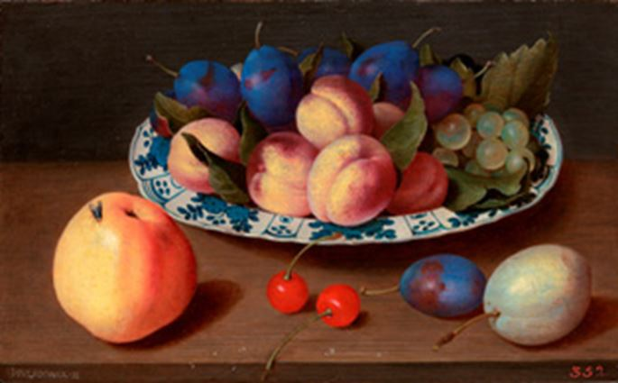 "JACOB  VAN HULSDONCK - ""Still-Life with Fruit"" 
