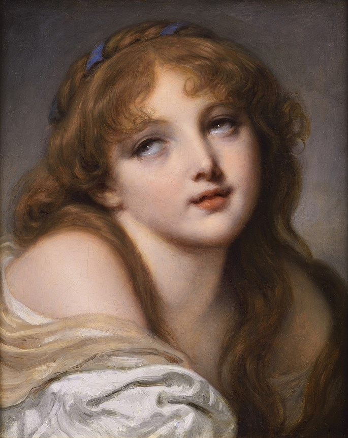 Jean-Baptiste Greuze - The Last Breath of Innocence  | MasterArt