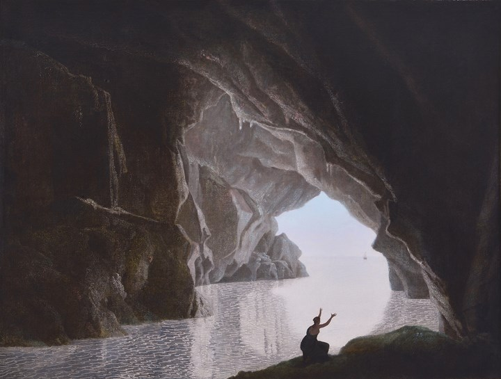 A Grotto in the Gulf of Salerno, with the Figure of Julia, Banished from Rome