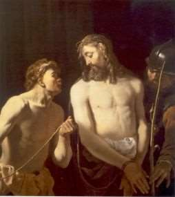"""The Mocking of Christ"""