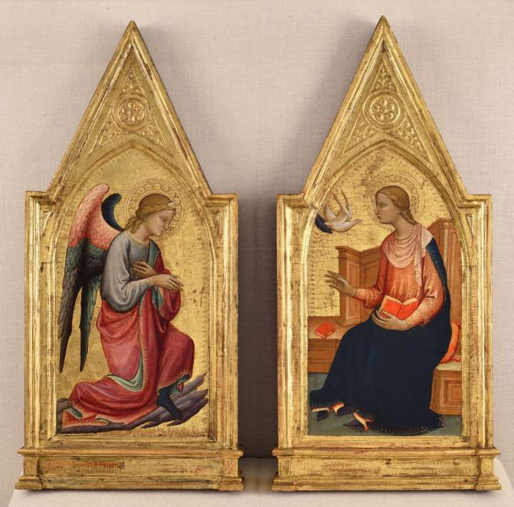 The Angel of the Annunciation and the Virgin