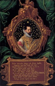 """Portrait of Alessandro Farnese, Duke of Parma (1545-1592)"""