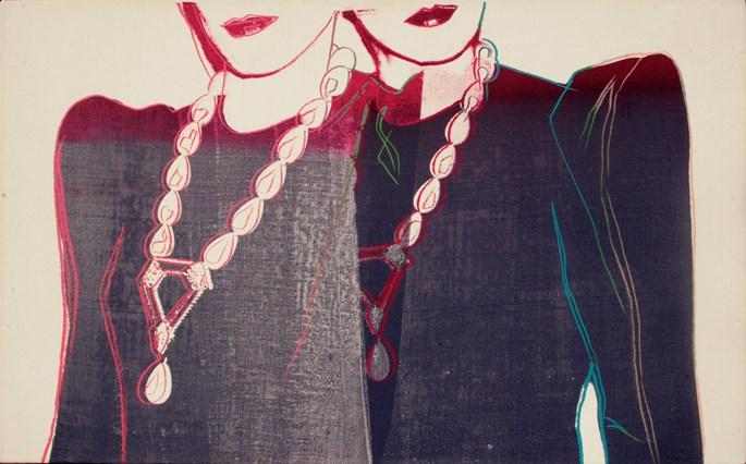 Andy WARHOL - Fashion – Two female Torsos with Necklaces | MasterArt