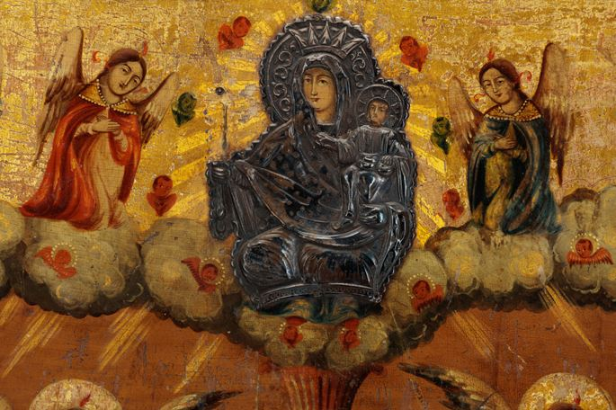 Icon Painting of the Theotokos (Mother of God), Life-giving Spring | MasterArt