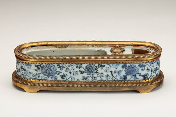 A Rare Blue-and-White Pen Box of Islamic Form | MasterArt