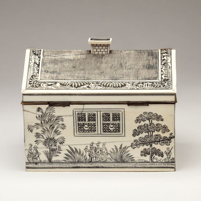 Anglo-Indian Workbox  | MasterArt