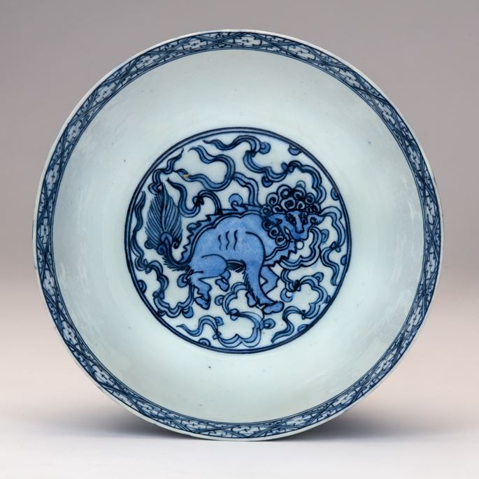 Blue-and-White Safavid Bowl | MasterArt