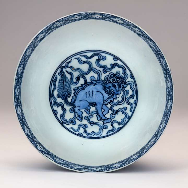 Blue-and-White Safavid Bowl