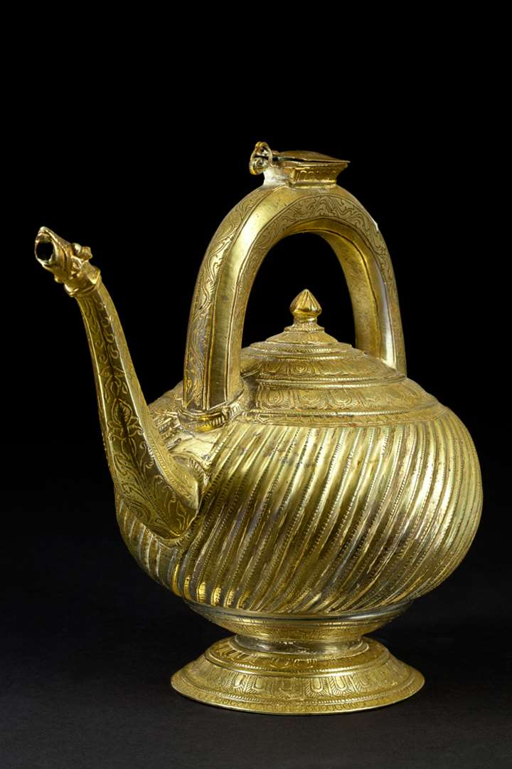 Brass Kettle Ewer