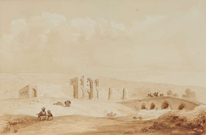 Caravanserai at Izadkhast