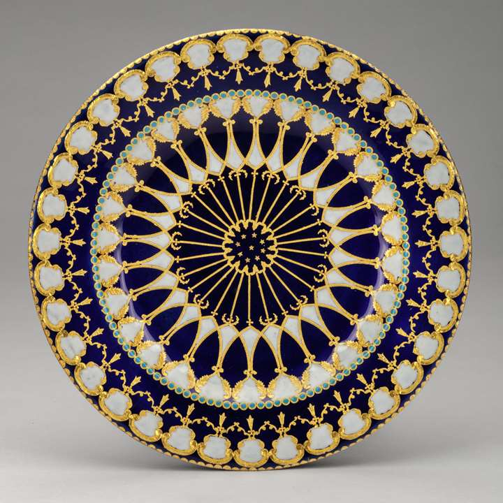 Enamelled Small Plate for the Turkish Market