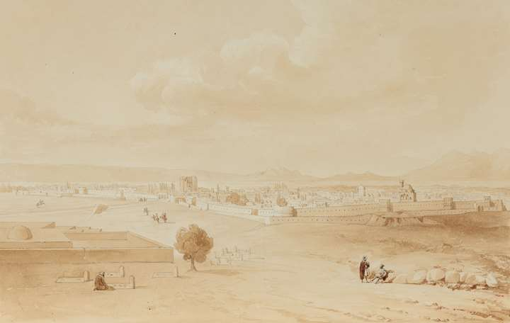 General View of Tabriz
