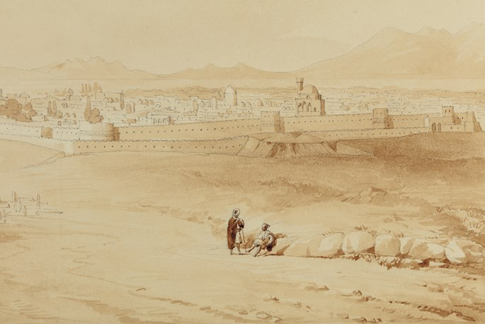 Charles Texier - General View of Tabriz | MasterArt