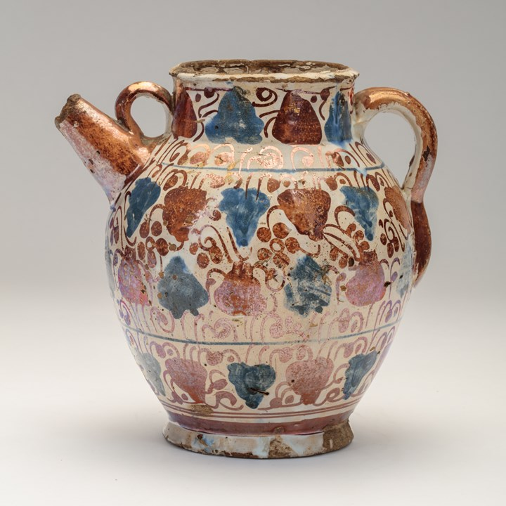 Hispano-Moresque Jug