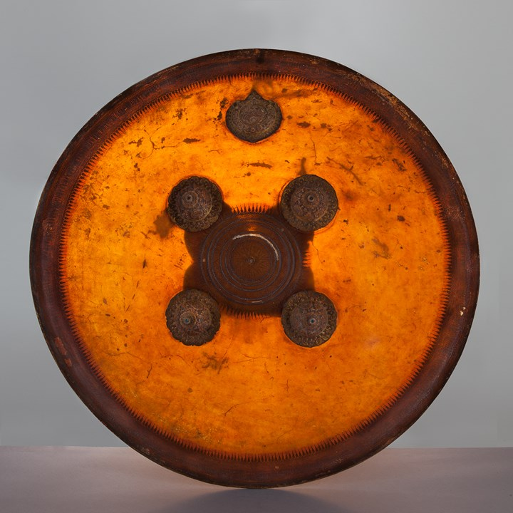 Indian Hide Shield