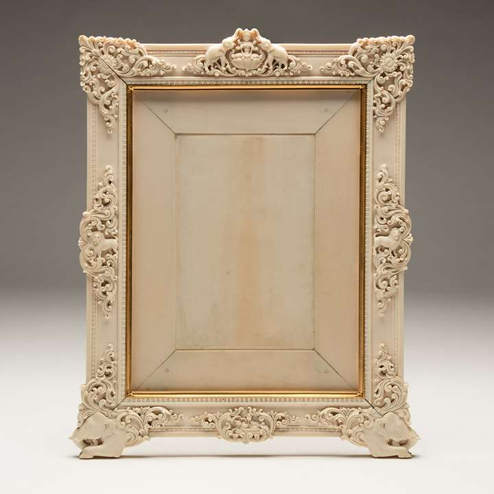 Ivory Picture Frame from the Kingdom of Travancore