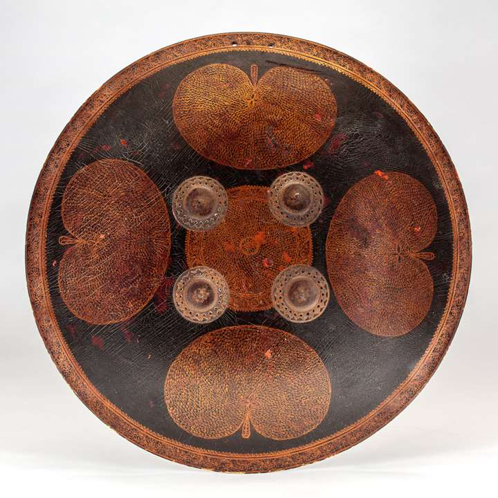 Lacquered Shield (Dhal)