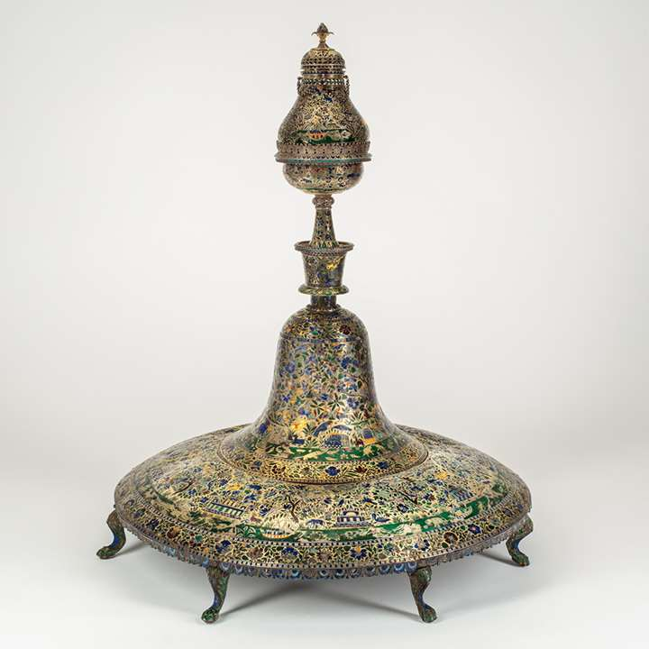 Lucknow Enamelled Huqqa