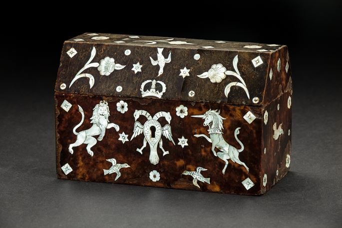 Mexican Tortoiseshell and Mother-of-Pearl Box | MasterArt