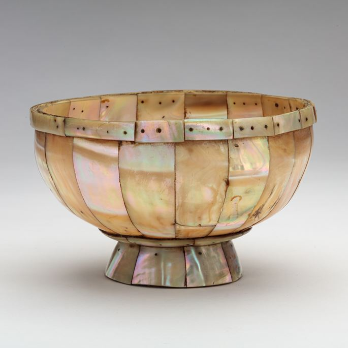 Mother-of-Pearl Footed Bowl  | MasterArt