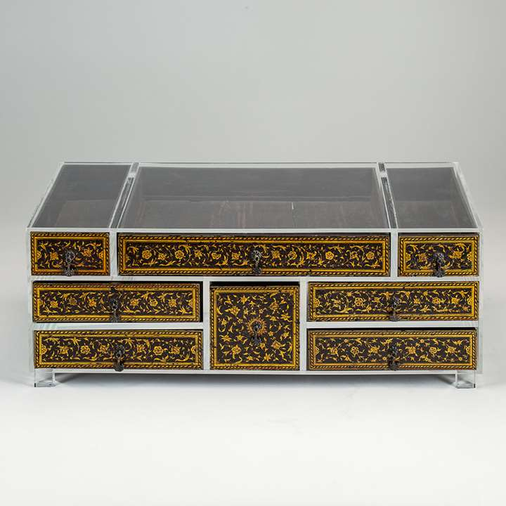 Mughal Lacquer Drawers