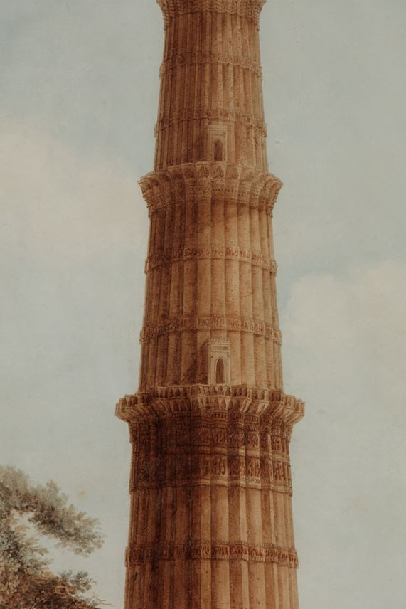 Painting of the Qutb Minar | MasterArt