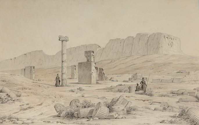 Charles Texier - Persepolis | MasterArt