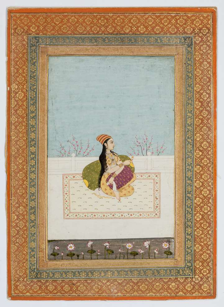 Princess Seated on a Terrace