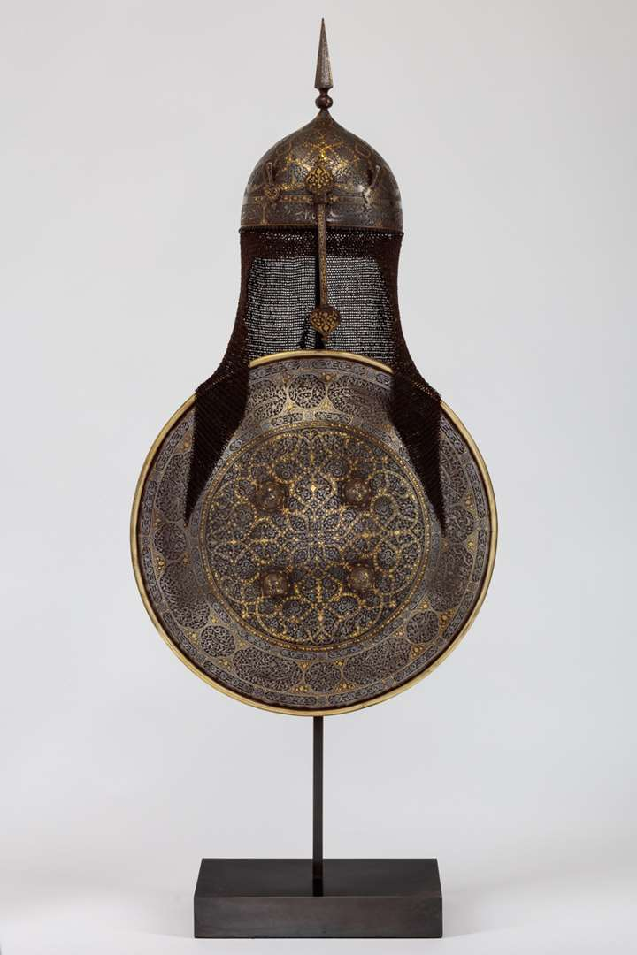 Qajar Helmet and Shield