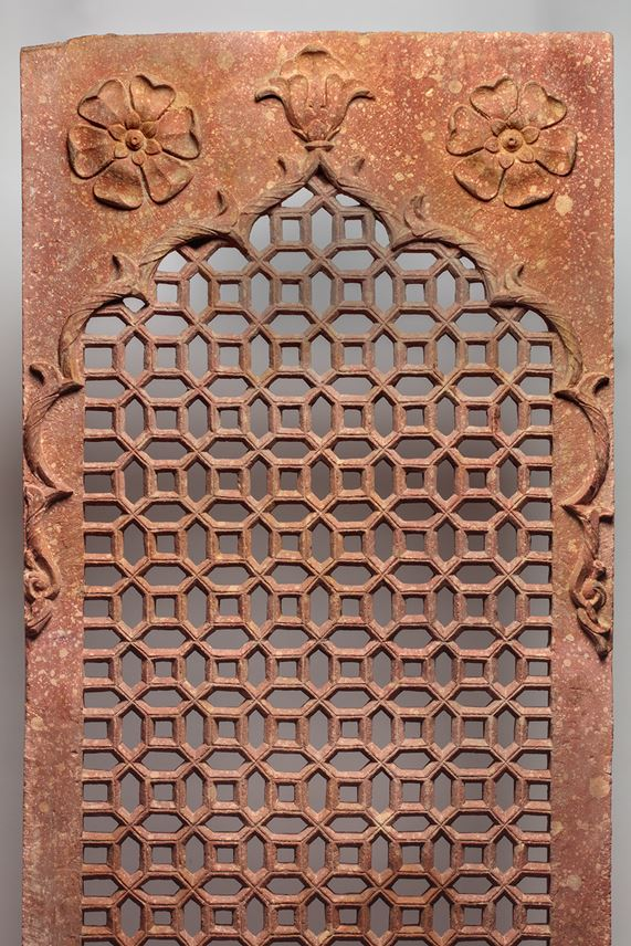 Red Sandstone Pierced Screen (Jali) | MasterArt