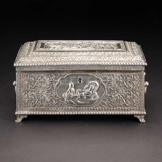 Silver Indian Box, Oomersi Mawji & Sons | MasterArt