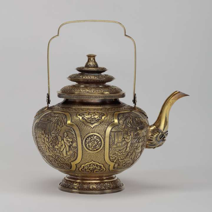 Silver-Gilt Water Pot