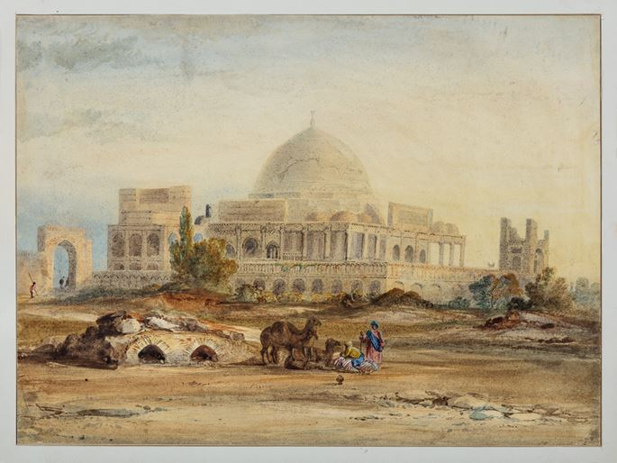 The Mausoleum of Isa Khan Tarkhan II | MasterArt