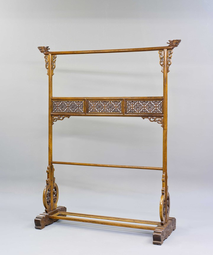 A Huanghuali Wood Cloth Rack