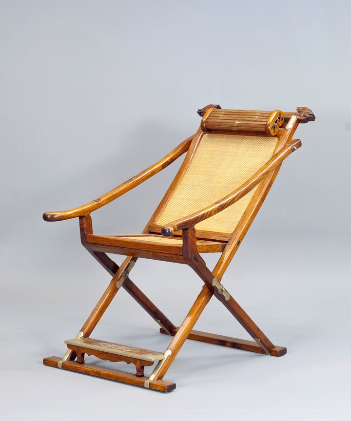 A Huanghuali Wood Folding & Detachable Chair
