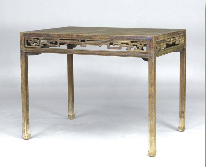 A Huanghuali Wood Painting Table | MasterArt