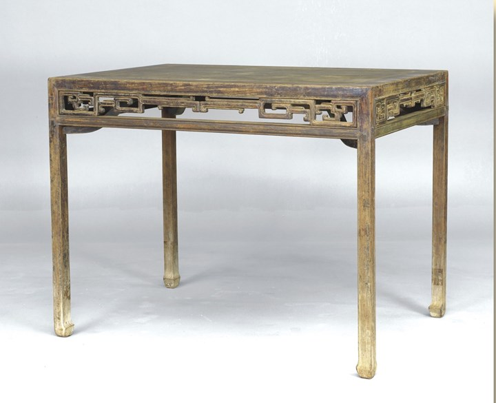 A Huanghuali Wood Painting Table