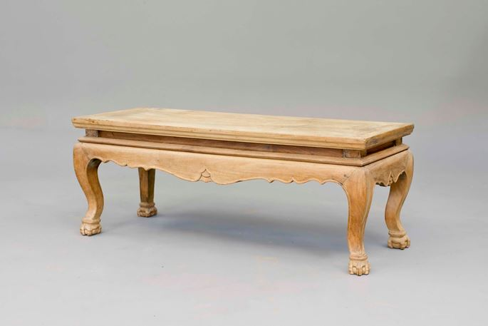 "A Huanghuali wood ""Kang"" Table 
