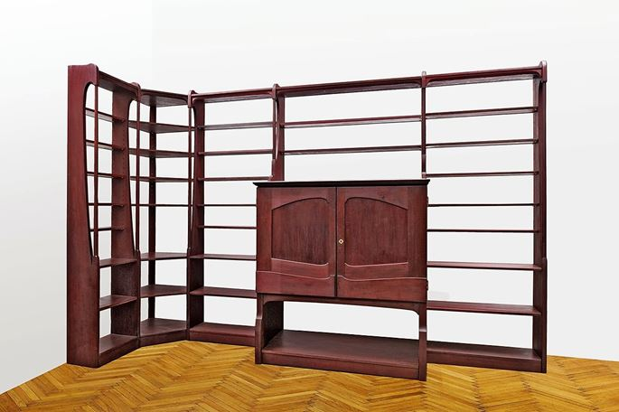 Richard Riemerschmid - LIBRARY BOOKCASE | MasterArt