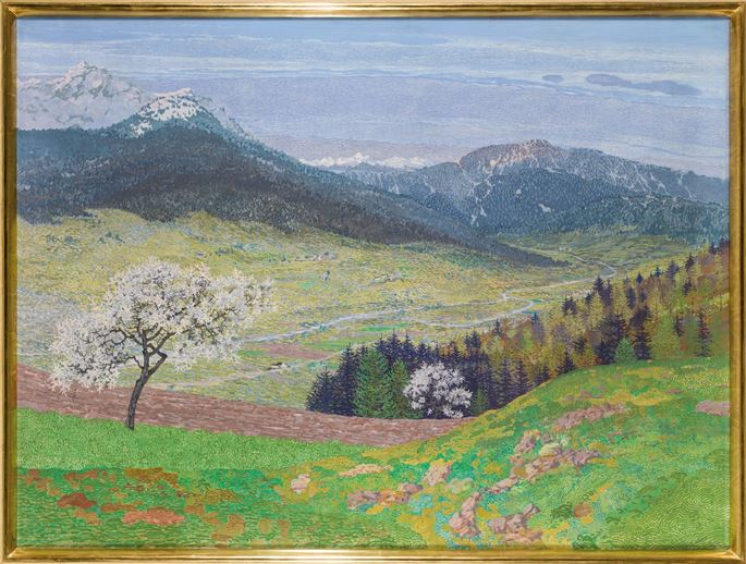 Hugo Baar - SPRINGTIME IN THE ALPS | MasterArt