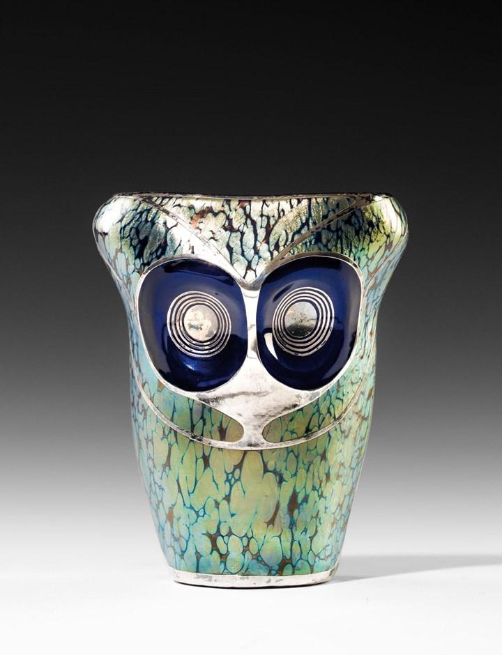 EAGLE OWL VASE