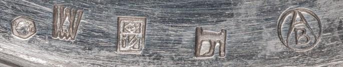 Josef Hoffmann / Wiener Werkstätte - BOTTLE COASTER   MasterArt