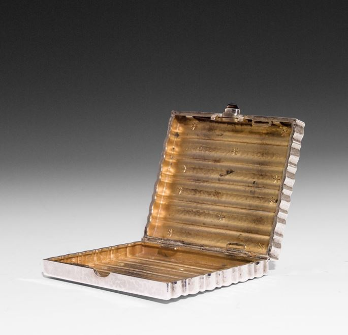 Josef Hoffmann / Wiener Werkstätte - SILVER CIGARETTE BOX | MasterArt